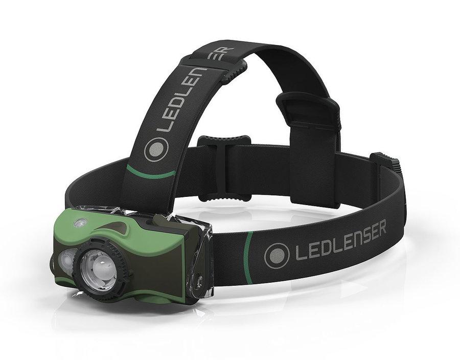 Čelovka - Čelovka Ledlenser MH8 Barva: zelená