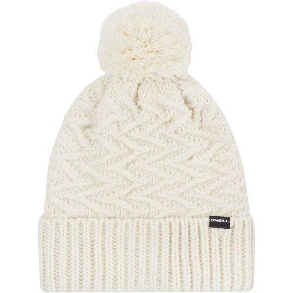 Bílá dámská zimní čepice O'Neill