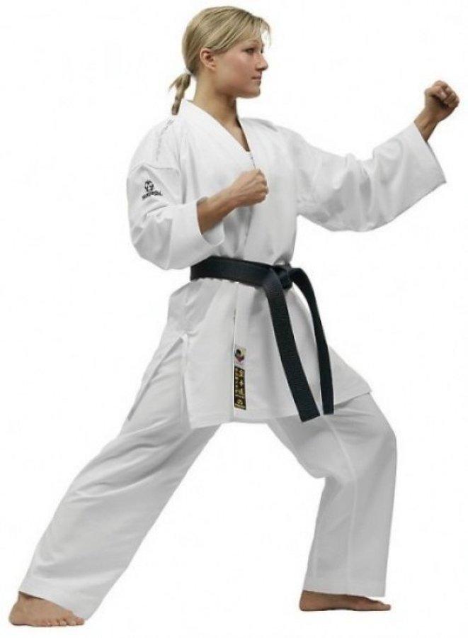 Bílé kimono na karate Hayashi - velikost 200