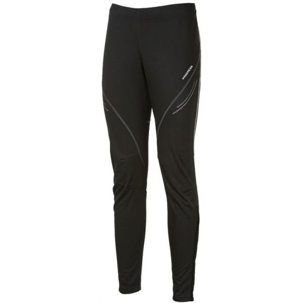 Černé pánské kalhoty na běžky Progress