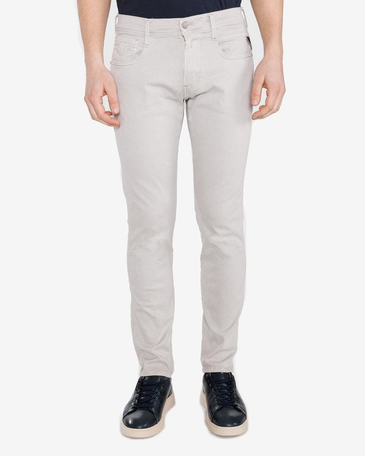 Bílé pánské džíny Replay - velikost 29