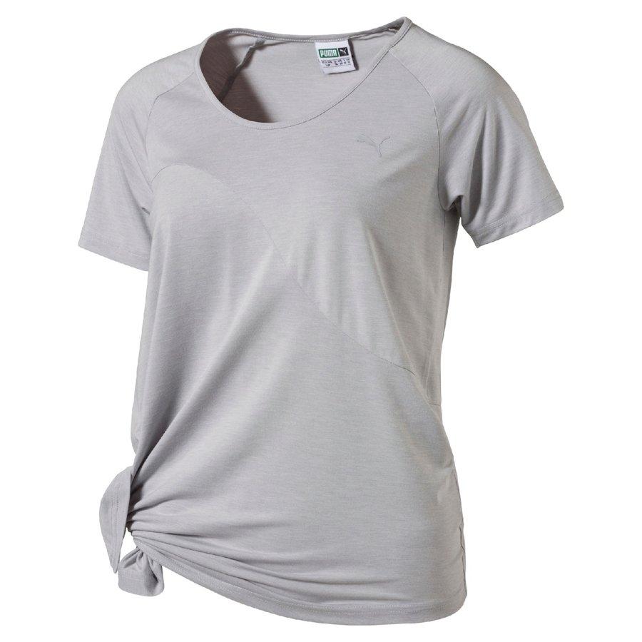 Šedé dámské tričko Puma - velikost S
