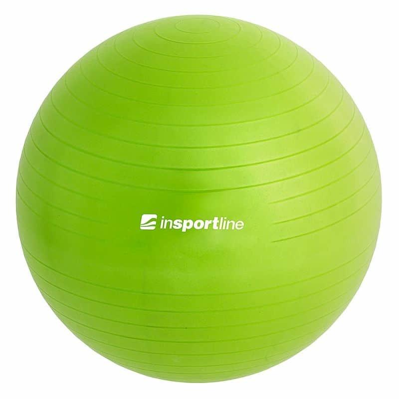 Modrý gymnastický míč s pumpou Top Ball, inSPORTline - průměr 55  cm