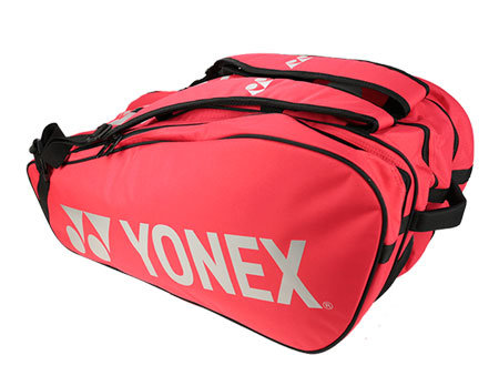 Tenisová taška - MĚSÍC RAKET: Taška na rakety Yonex Bag 9829 Flame Red