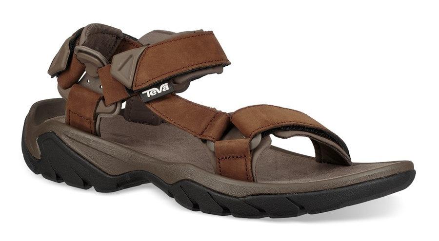 Hnědé pánské sandály Teva - velikost 40,5 EU