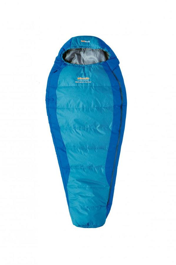 Modrý dětský spací pytel Pinguin - délka 175 cm