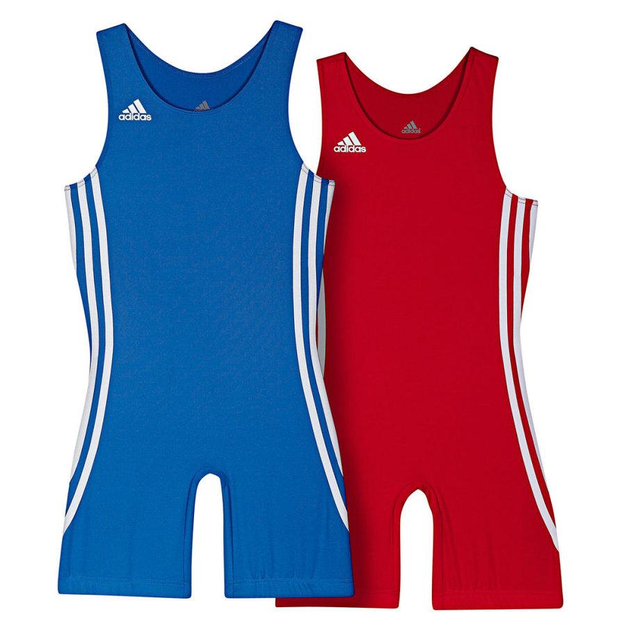 Modrý dětský zápasnický dres Adidas - velikost 116