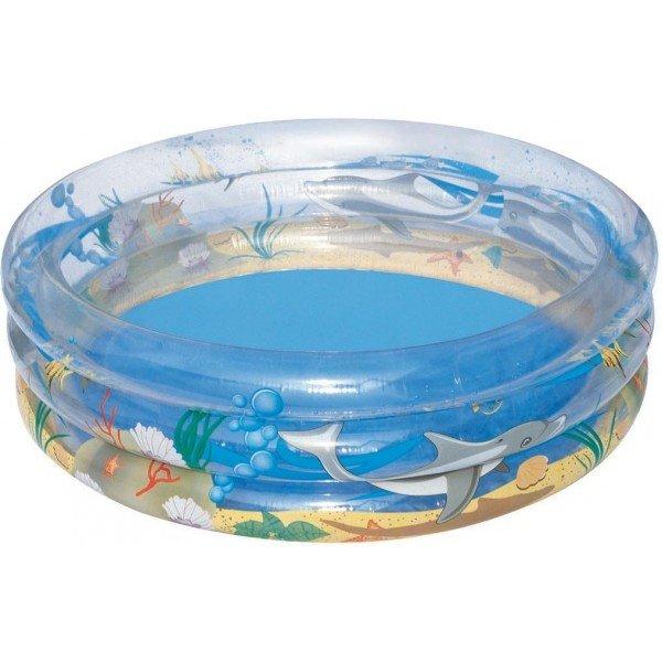 Dětský nafukovací nadzemní kruhový bazén Bestway - průměr 150 cm a výška 53 cm