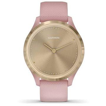 Růžové chytré hodinky VivoMove 3S Sport, Garmin