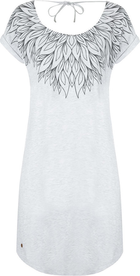 Šedé dámské šaty Loap - velikost XS