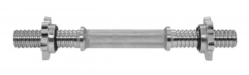 Rovná činková tyč Lifefit - délka 35 cm
