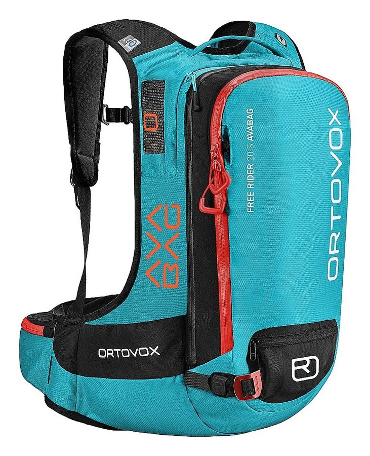 Modrý lavinový skialpový batoh Ortovox - objem 20 l