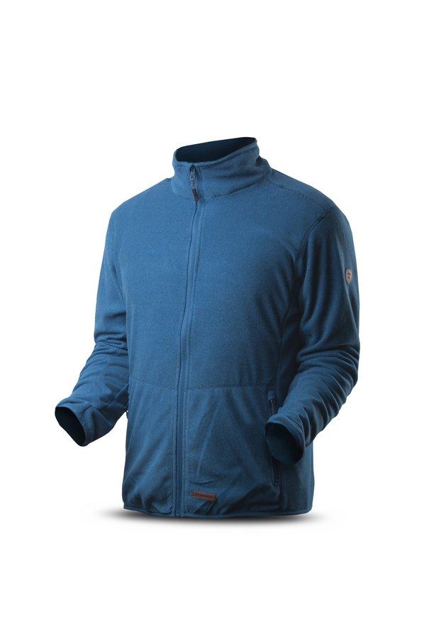Modrá pánská mikina bez kapuce Trimm - velikost XXL