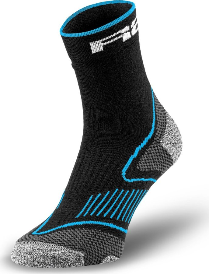 Černé cyklistické ponožky R2 - velikost 43-46 EU