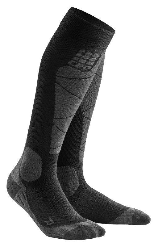 Černé lyžařské ponožky CEP - univerzální velikost