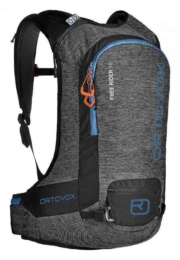 Šedý skialpový batoh Ortovox - objem 16 l