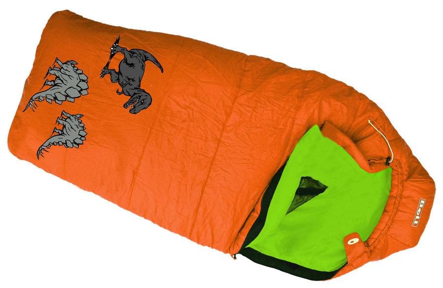 Oranžový dětský spací pytel Boll - délka 180 cm