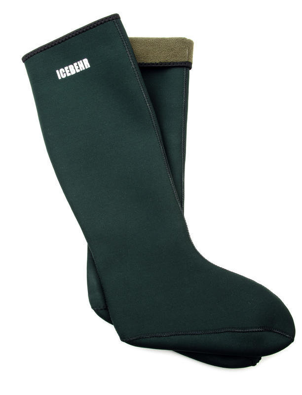 Černé neoprenové ponožky Behr - velikost 39-41 EU