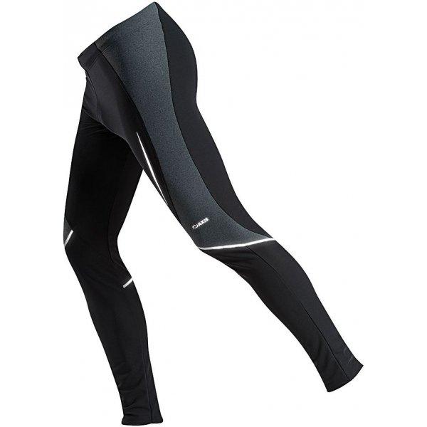 Černo-šedé pánské kalhoty na běžky Axis