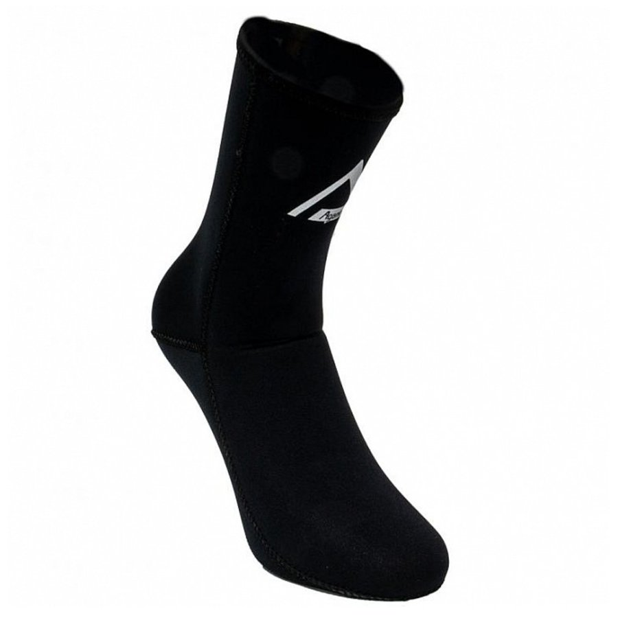 Černé neoprenové ponožky Alpha, Agama - velikost 46-47 EU a tloušťka 3 mm