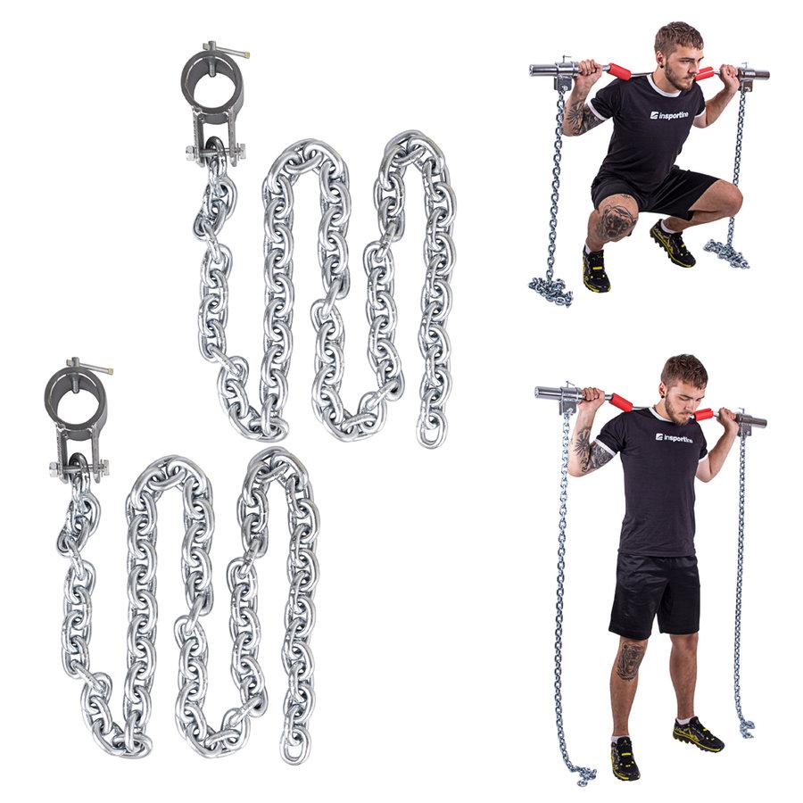 Vzpěračský řetěz inSPORTline - 10 kg - 2 ks