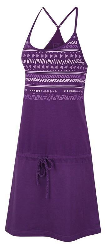 Fialové dámské šaty Hannah - velikost 34
