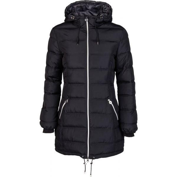Černý dámský kabát Willard - velikost M