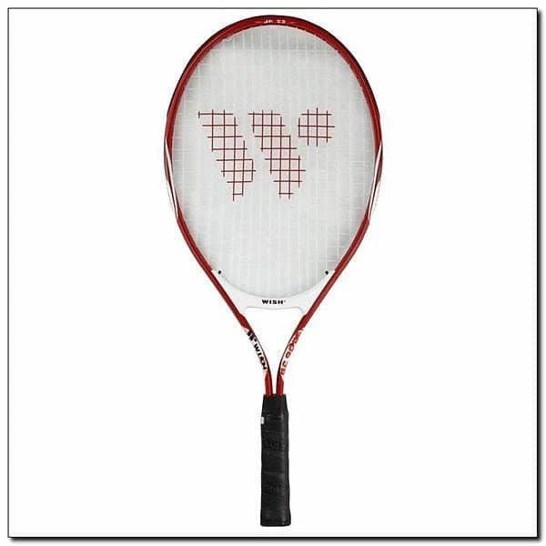 Červená tenisová raketa Wish - délka 63,5 cm