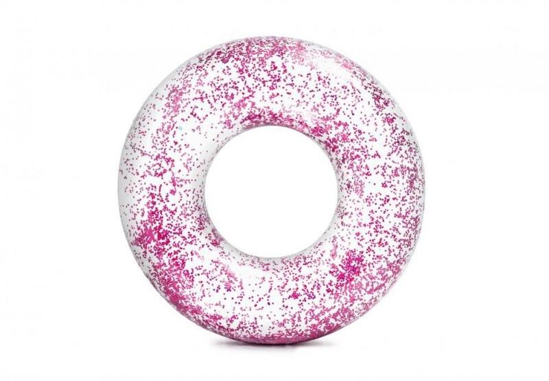 Růžový nafukovací kruh INTEX