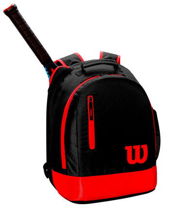 Tenisový batoh - Wilson Youth Backpack 2019 Black/Red