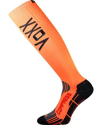 Oranžové kompresní podkolenky Flex, Voxx