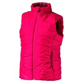 Růžová dívčí vesta Puma