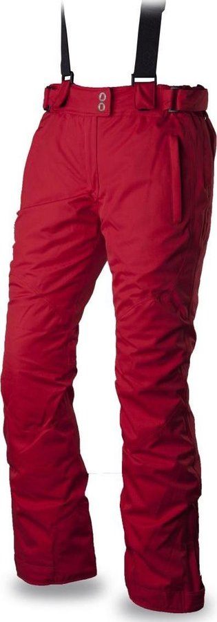 Červené dámské lyžařské kalhoty Trimm