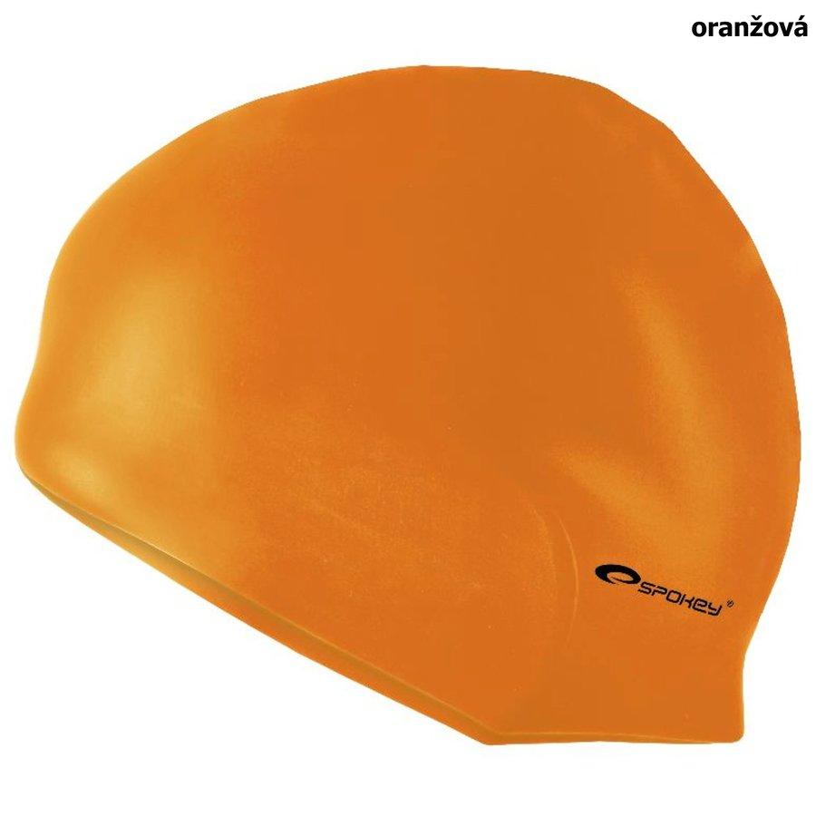 Oranžová pánská nebo dámská plavecká čepice SUMMER, Spokey