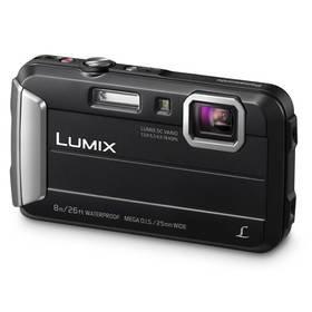 Černý outdoorový fotoaparát Lumix DMC-FT30EP-K, Panasonic