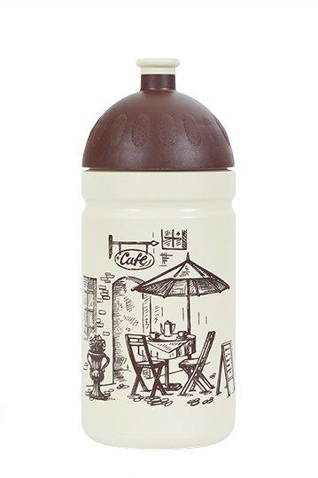 Transparentní sportovní láhev na pití Zdravá lahev, R&B - objem 0,5 l