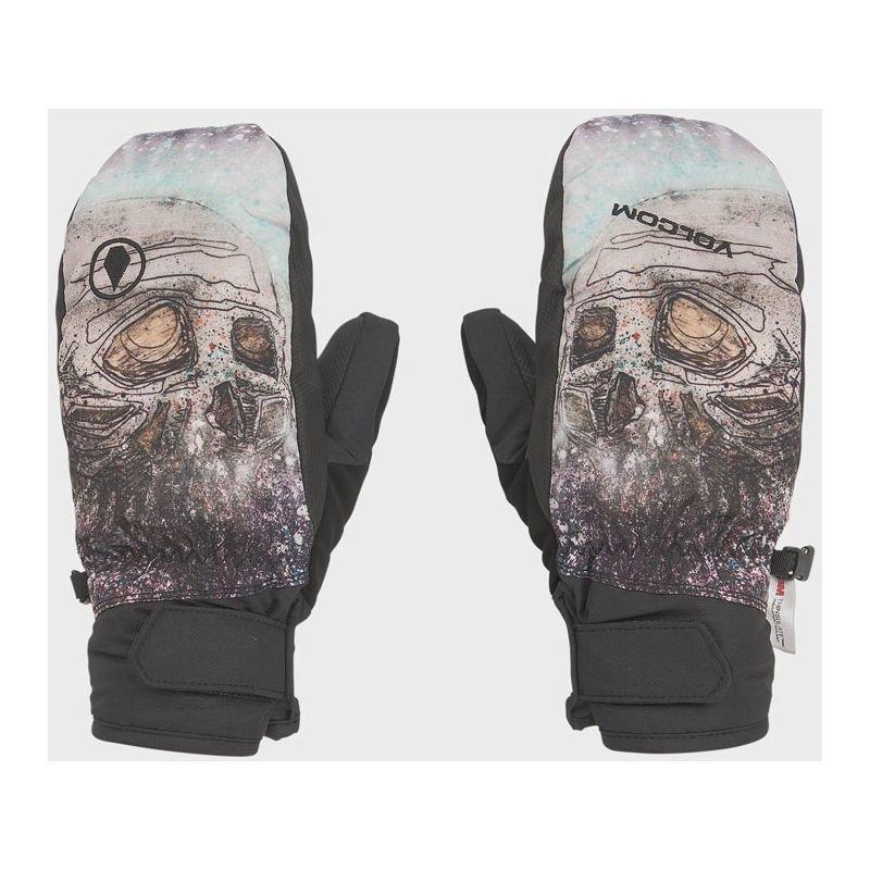 Béžové zimní rukavice Volcom - velikost XL