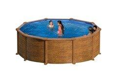Nadzemní kruhový bazén GRE - průměr 550 cm a výška 132 cm