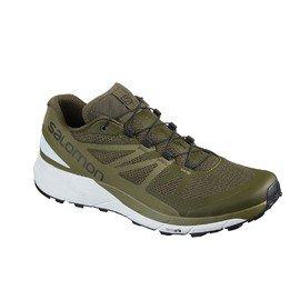 Zelené pánské běžecké boty SENSE RIDE, Salomon