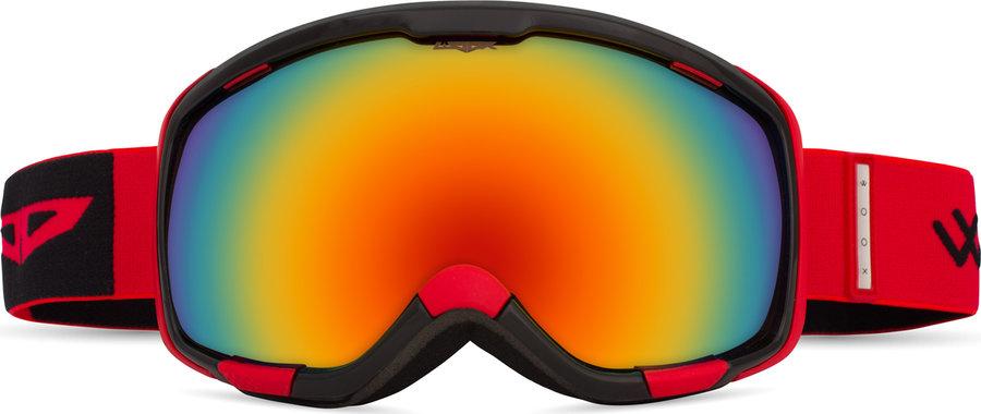 Červené lyžařské brýle Woox