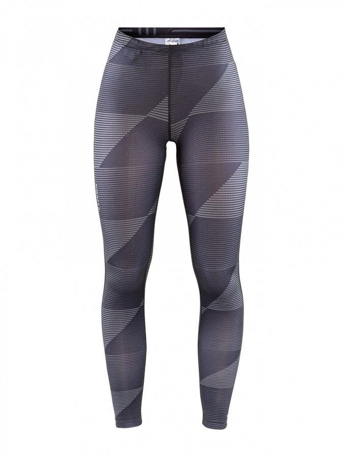 Šedé dlouhé dámské cyklistické kalhoty Craft - velikost M