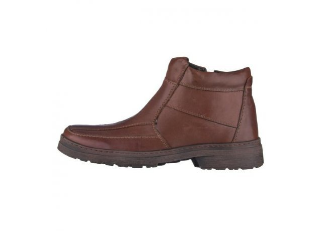 Hnědé pánské zimní boty Hujo