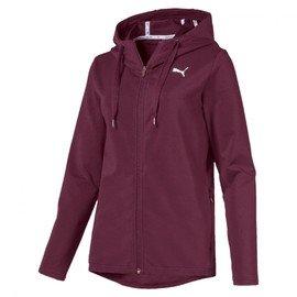 Červená nepromokavá dámská bunda s kapucí Puma