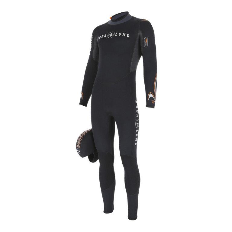Černý dlouhý neoprenový oblek DIVE JUMPSUIT, Aqualung
