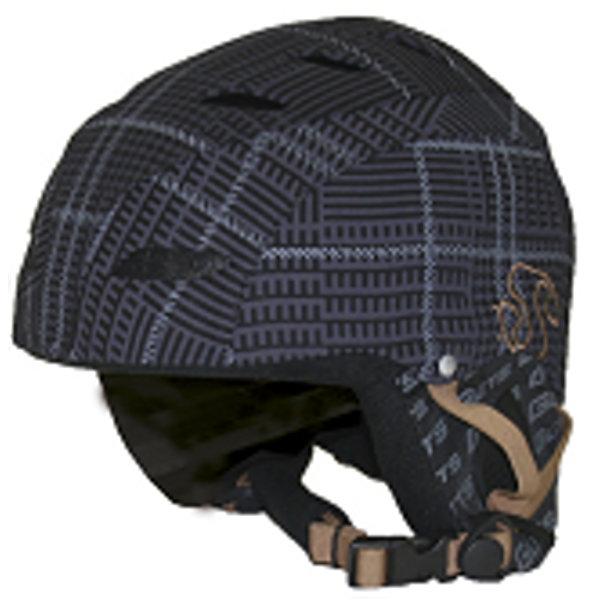 Černo-hnědá dětská lyžařská helma SPARTAN SPORT - velikost S