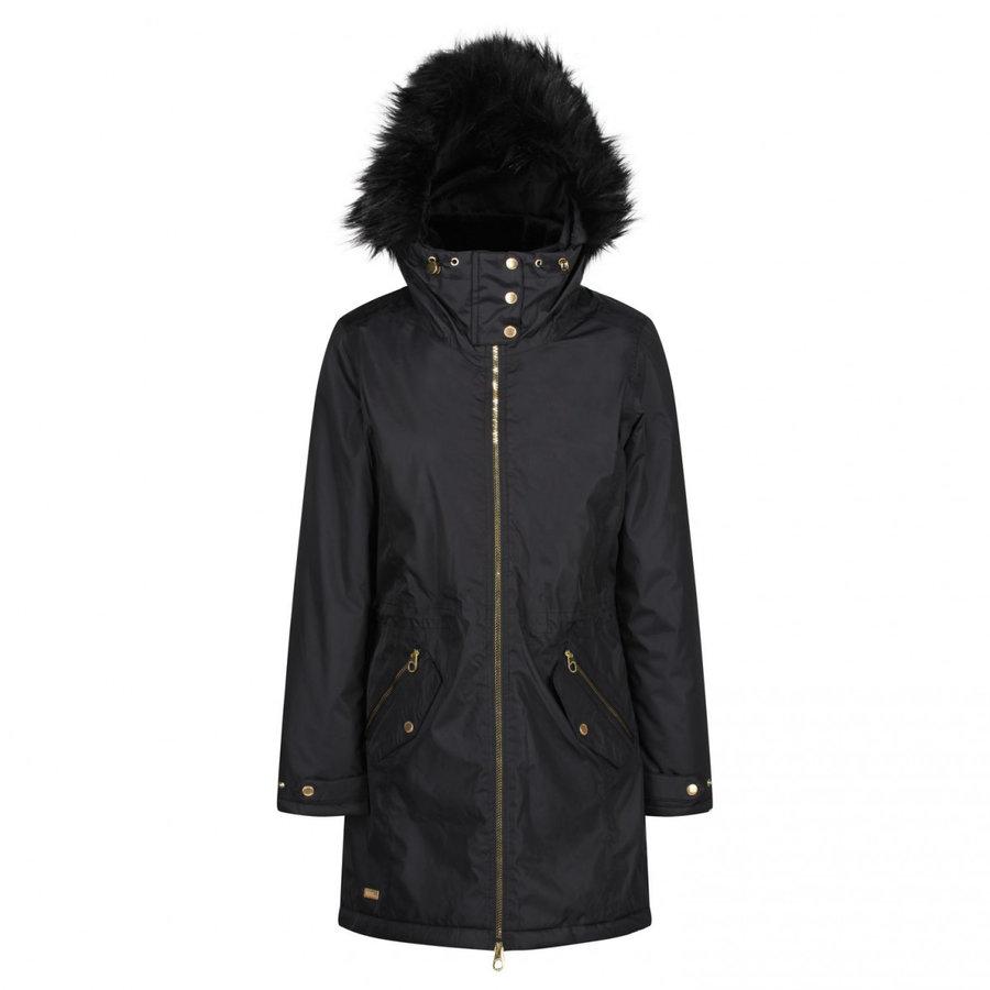 Černý zimní dámský kabát Regatta - velikost S