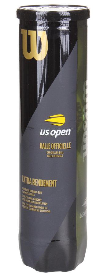 Tenisový míček US Open, Wilson - 4 ks