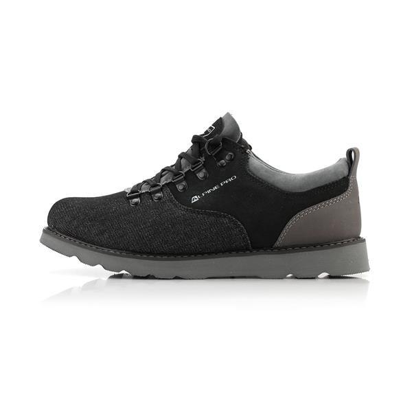 Černé pánské kotníkové boty Alpine Pro - velikost 44 EU
