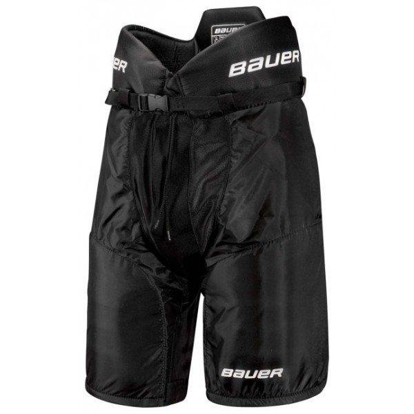 Černé hokejové kalhoty - junior Bauer - velikost L