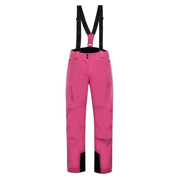 Růžové dámské lyžařské kalhoty Alpine Pro